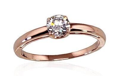 Auksinis sužadėtuvių žiedas modelis ADUM1100285(Au-R)_CZ