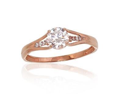 Auksinis sužadėtuvių žiedas modelis ADUM1100847(Au-R+PRh-W)_CZ