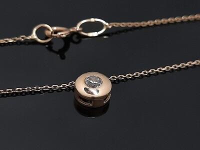 Auksinis pakabutis su grandinėlė, Modelis ADAD_Premium