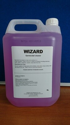 WIZARD Spray and Wipe Bactericidal Cleaner