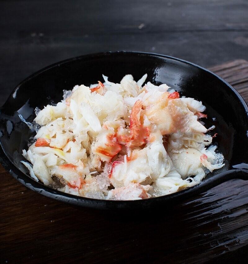 Салатное мясо Камчатского краба 250г