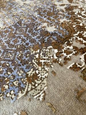 Tibet Design laine et soie.  3260 fr