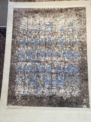 Tibet Design laine et soie. 2100fr