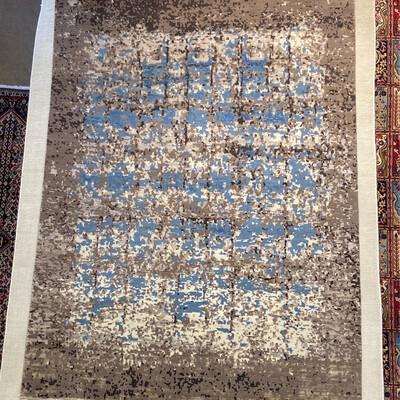Tibet Design laine et soie . 2300fr