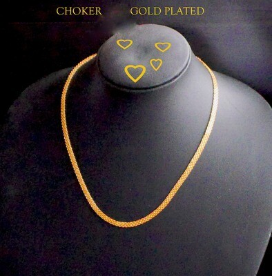 18 in gold plated chain