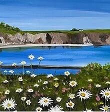Summer flowers in Boatstrand