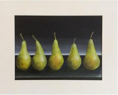 row of Pears
