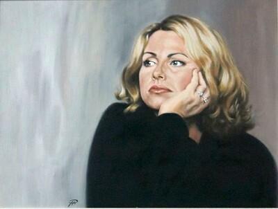 Self Portrait in Blonde