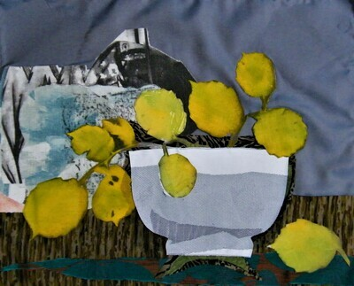 Yellow Leaves in a Bowl