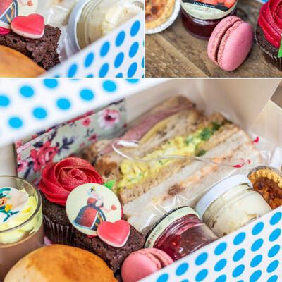 Madhatters Takeaway Afternoon Tea Box