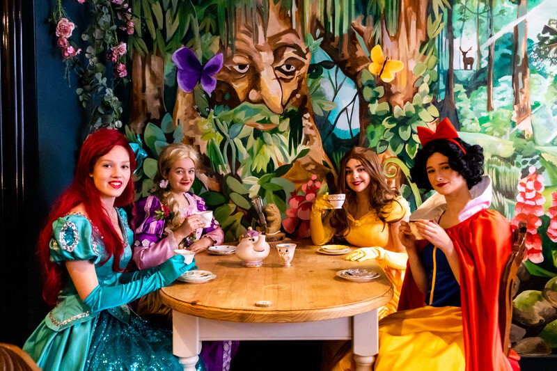 Princess Afternoon Tea At 11:00 On Febuary The 13th  £5 Deposit
