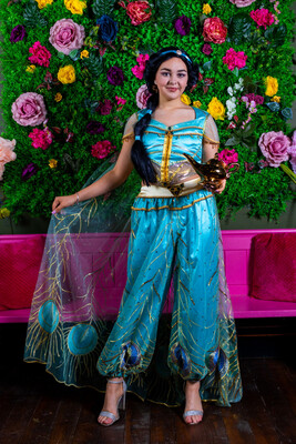 Afternoon Tea With Princess Jasmine At 3pm On School holidays Friday 13th August  £5 Deposit