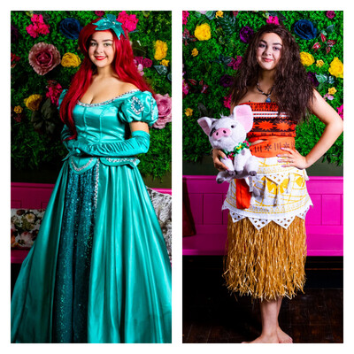 Mermaid & Moana princess afternoon Tea Sat Sept 11th At 11:00 £5 Deposit