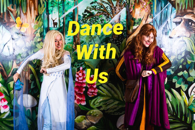 Easter Holidays Zoom Dance Lesson With Elsa & Anna Monday April 5th At 11:00
