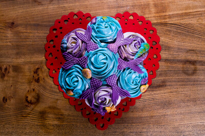 Mermaid mother's  Day Cupcake Bouquet
