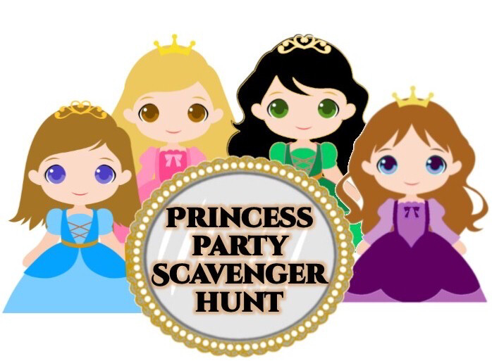 Princess Scavenger Hunt On Zoom With Dancing Sat 6th At 10am