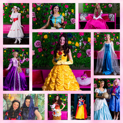 Princess Character Birthday Party Visit 1 Hour