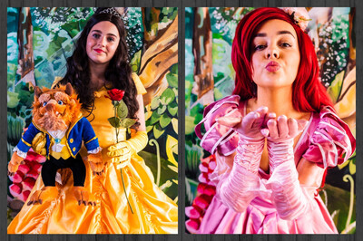 Princess Afternoon Tea  With Princess Belle & Ariel At 3pm On Weds August 11th  £5 Deposit