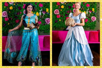 Afternoon Tea With Princess Jasmine & Cinderella At 3pm On School holidays Friday 13th August  £5 Deposit