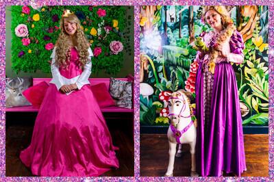 Princess Rapunzle  & Aurora Afternoon Tea Sun Oct The 17th At 11:00 £5 Deposit