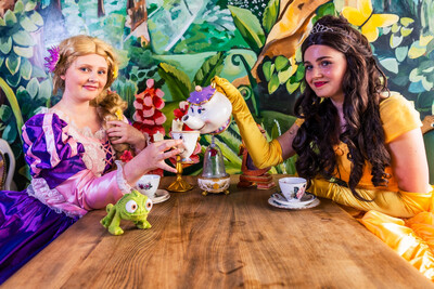 Princess Afternoon Tea  With Princess Belle & Rapunzle At 1:00 Sun 29th August £5 Deposit