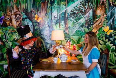 Alice In Wonderland Afternoon Tea & Cocktails Sat Oct 2nd At 3pm