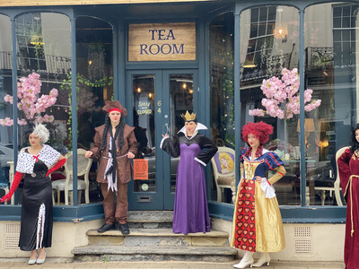 Afternoon tea With The Villains  Sat Nov 13th At 3pm £5 Deposit
