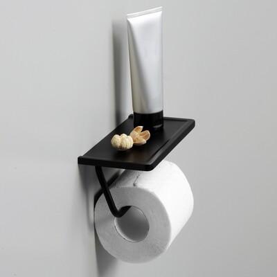 K-1525 Держатель туалетной бумаги с полочкой для телефона