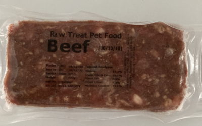 Beef : 80/10/10 : Size 500g