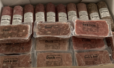 40 Mixed Raw Meats Boxed and with a 20 Item Treat Box.