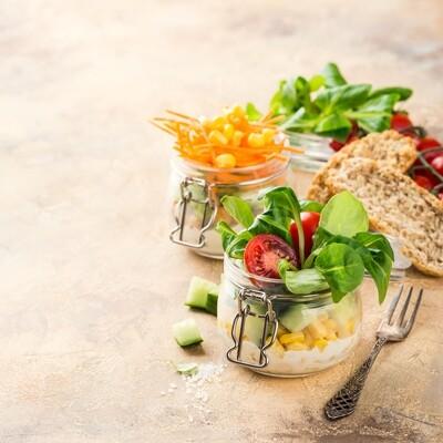 Salatbecher [Eisberg]