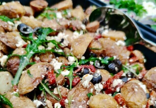 Kartoffelsalat [mediterran]