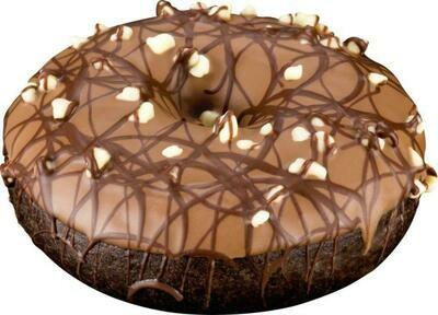 Donut Chocolate Cake