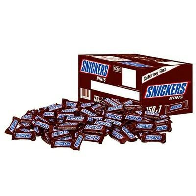 Schokoriegel Minis Catering Box Snicker 150 Stück