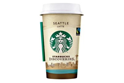Starbucks Coffee Discoveries Seattle Latte 220 ml Becher