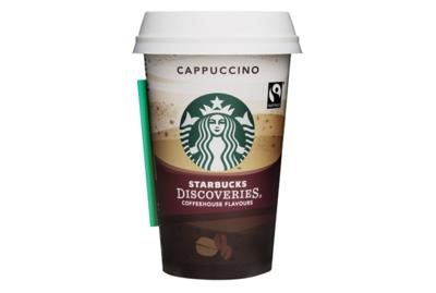 Starbucks Coffee Discoveries Cappuccino 220 ml Becher