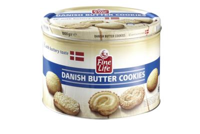 Fine Life Danish Butter Cookies 500 g Dose