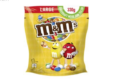 M & M`s Peanut - 330 g Beutel