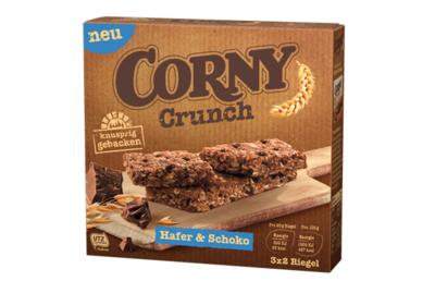 Corny Crunch Hafer & Schoko - 120 g Schachtel