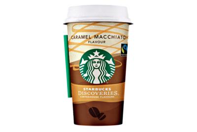 Starbucks Coffee Discoveries Caramel Macchiato 1,6 % Fett - 220 g Becher
