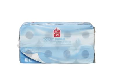 Fine Life Toilettenpapier Weiß 3 lagig