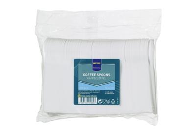 Kaffeelöffel Weiß Polystyrol  - 250 Stück