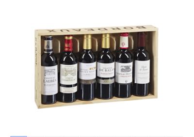 Bordeaux Geschenkpackung Rotwein - 1 Kiste
