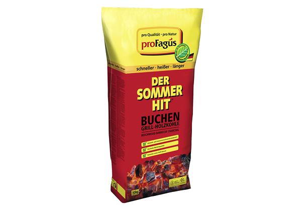Pro Fagus Holzkohle Sommerhit 10 kg