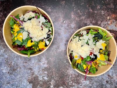 Salatbecher [Wildkräuter]