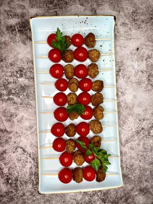 Bouletten-Tomaten-Spieß