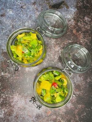 Salatbecher [Mango-Avocado]