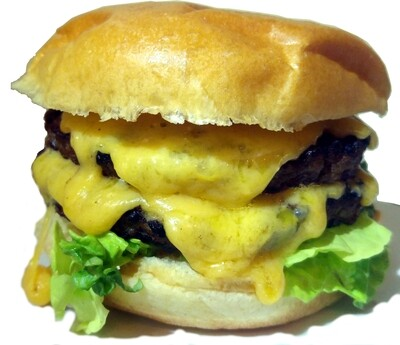 Half Pound Gourmet Cheese Burger