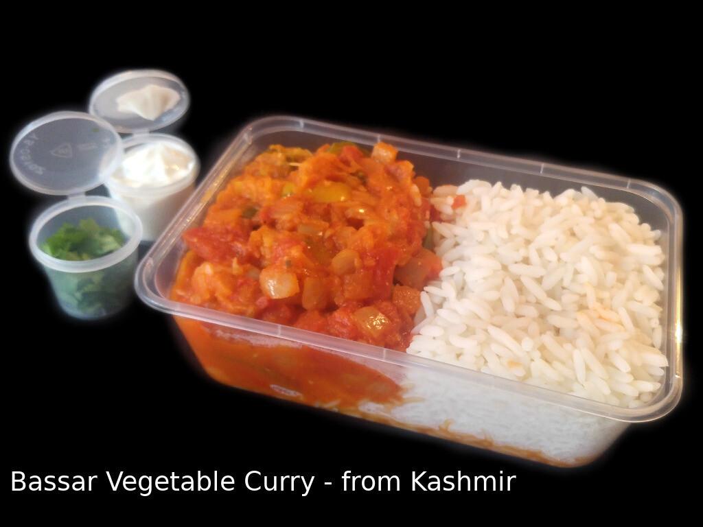 Vegan Bassar Vegetable Curry