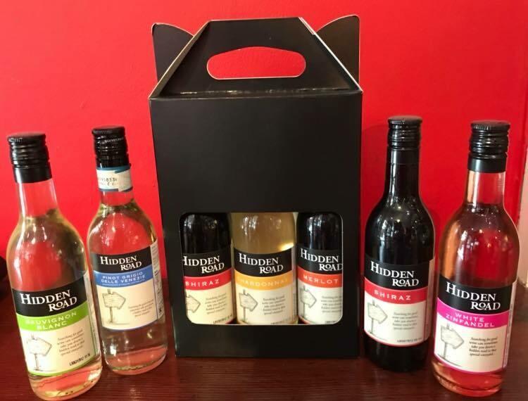 Hidden Road Wine - 3 bottle selection